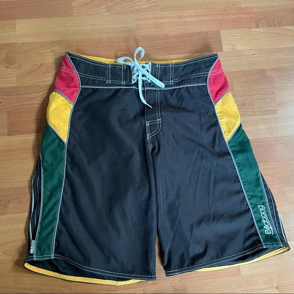 Billabong Rasta Pattern Board Shorts